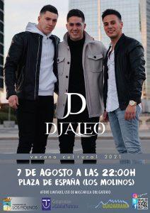 D´Jaleo en concierto @ Plaza de España