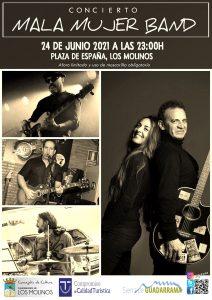 Concierto Mala Mujer Band (La Noche en Blanco) @ Plaza de España