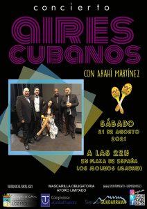 """Actuación musical """"Aires Cubanos"""" con Arahí Martínez @ Plaza de España"""