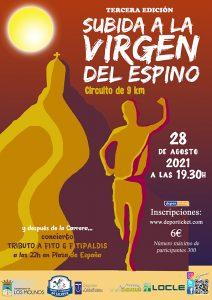 Subida a la Virgen del Espino 2021 @ Plaza de España