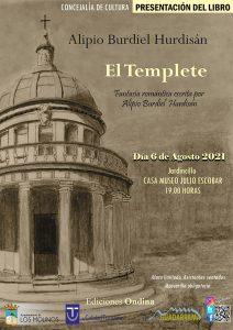"""Presentación del libro """"El Templete"""" de Alipio Burdiel @ Casa Museo Julio Escobar"""