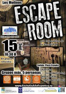 Scape Room Los Molinos @ Plaza de España